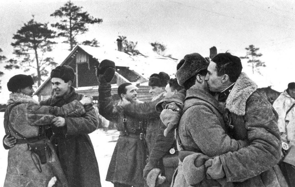Ленинград после прорыва блокады