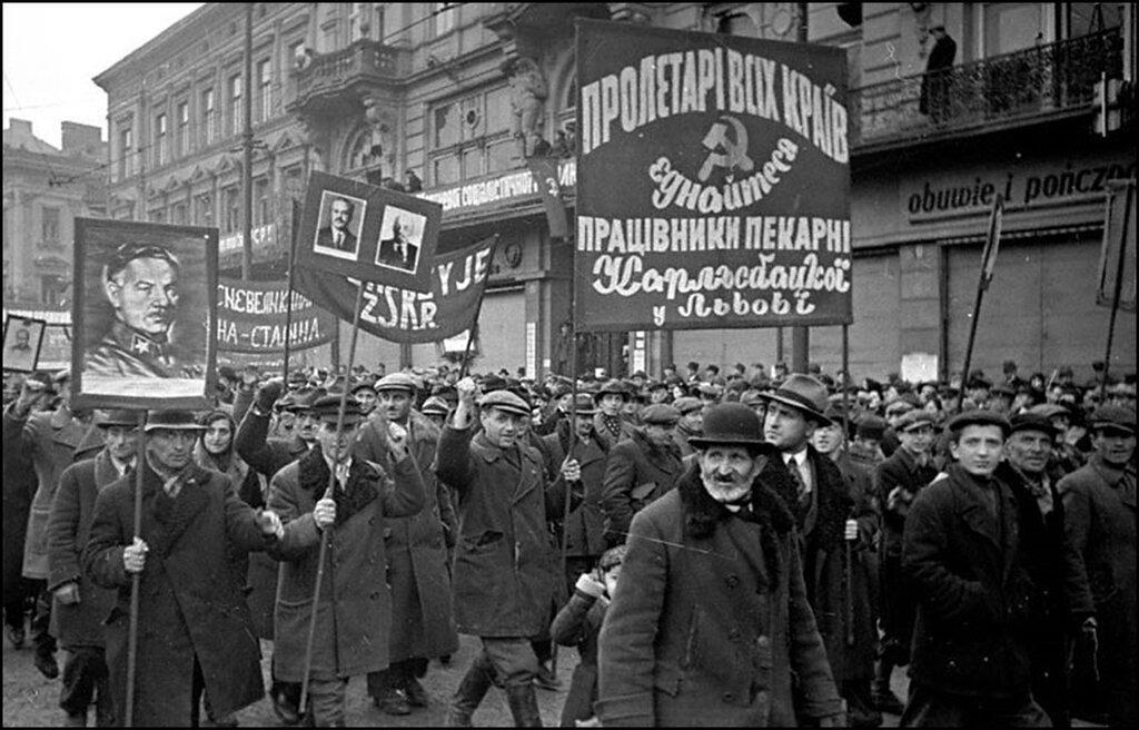 Митинг в Львове