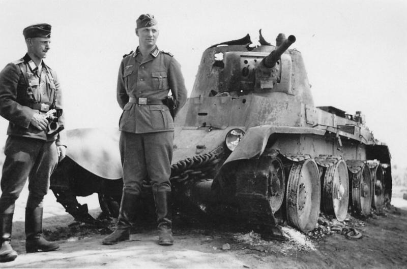 Немецкие солдаты на фронте