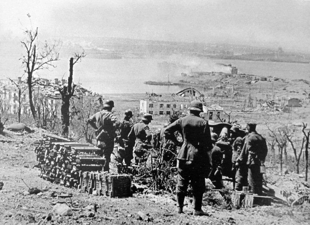 Немцы в Севастополе 1942 год