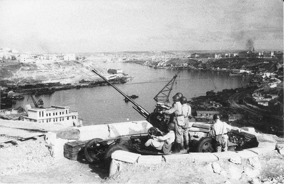 Начало битвы в Севастополе