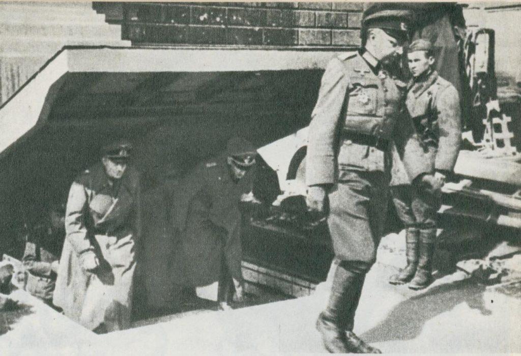 Сдача в плен немцев в 1945