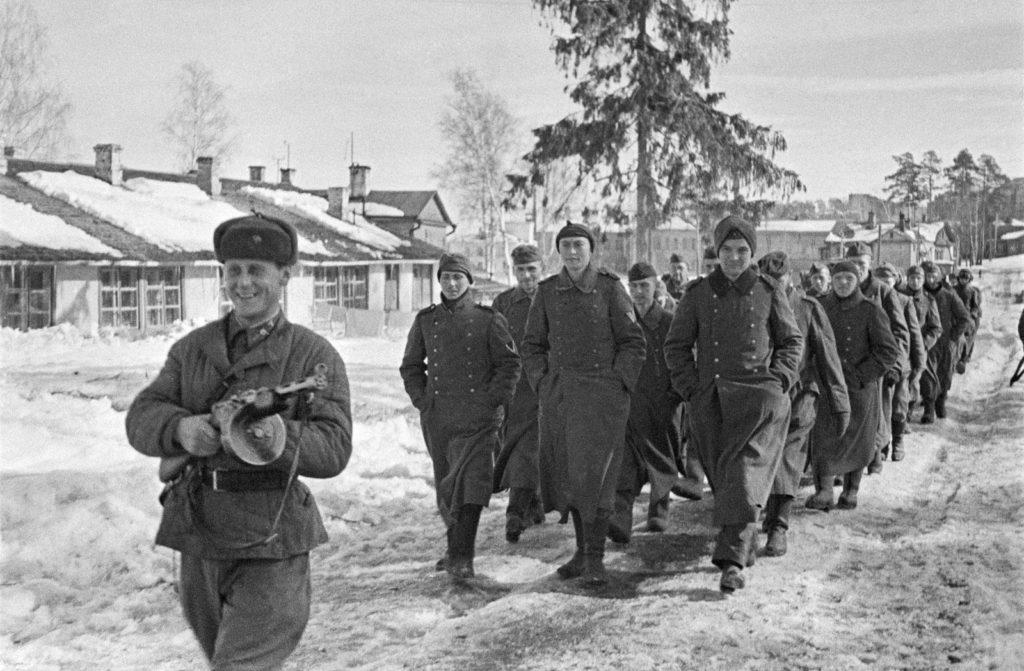Немцы в плену