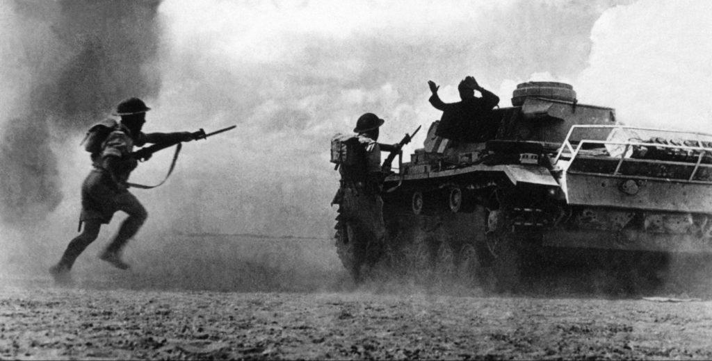 Войска в битве за Эль-Аламейн