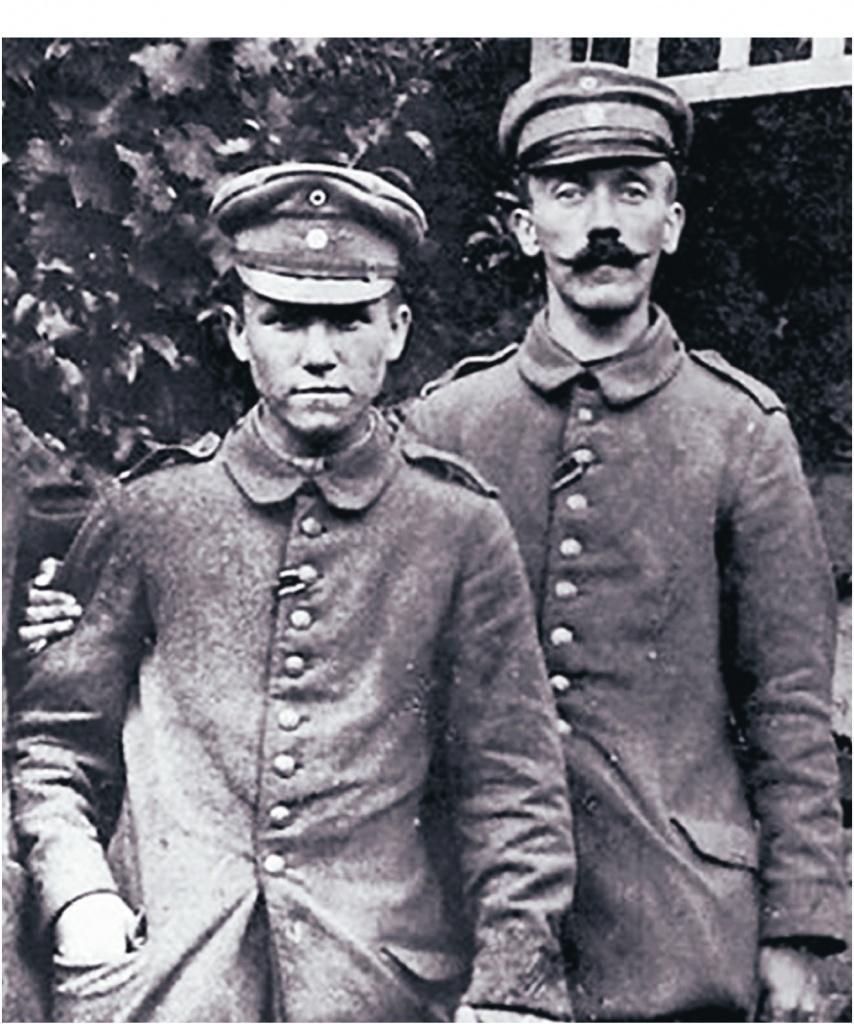 Адольф Гитлер в составе германской армии