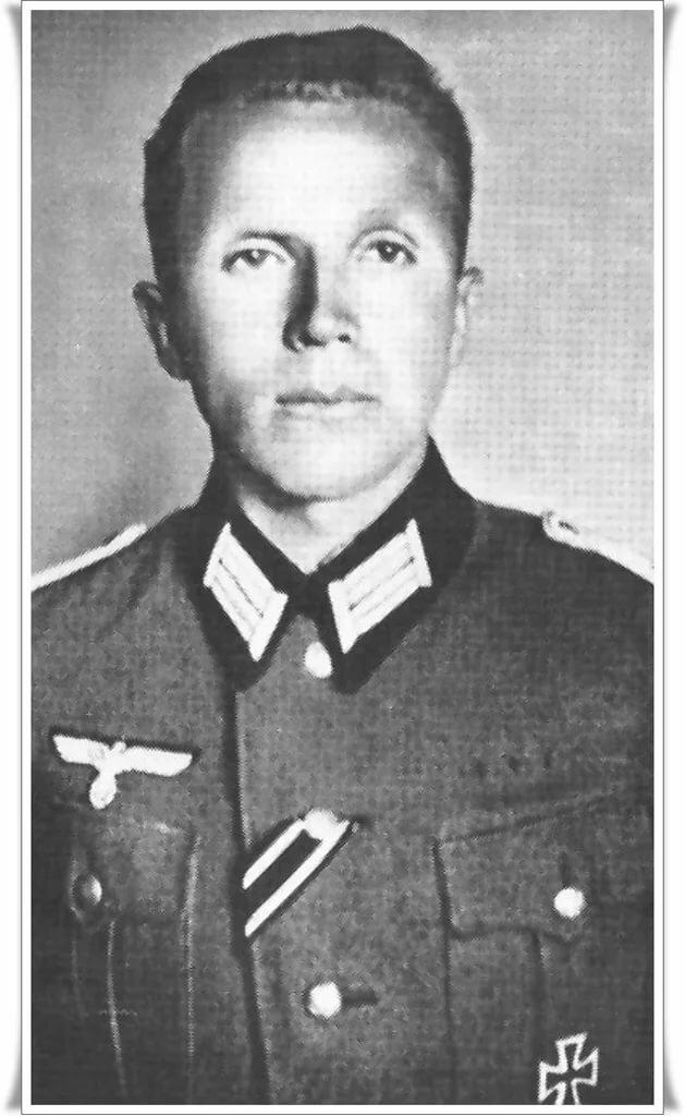 Николай Кузнецов в роли обер-лейтенанта