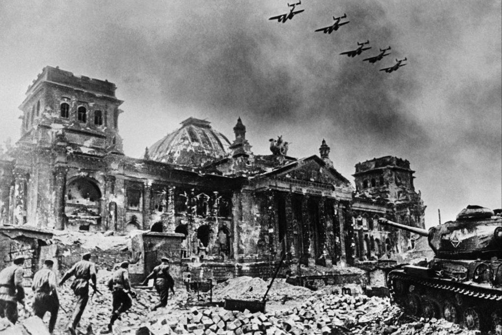 Рейхстаг в годы войны