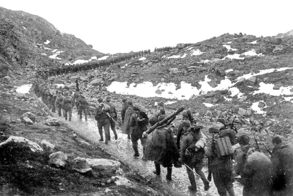 Советские войска на Кавказе