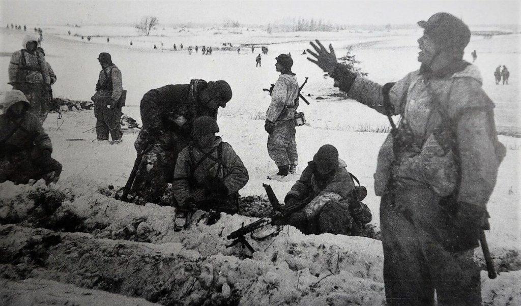 Немцы атакуют Ленинград