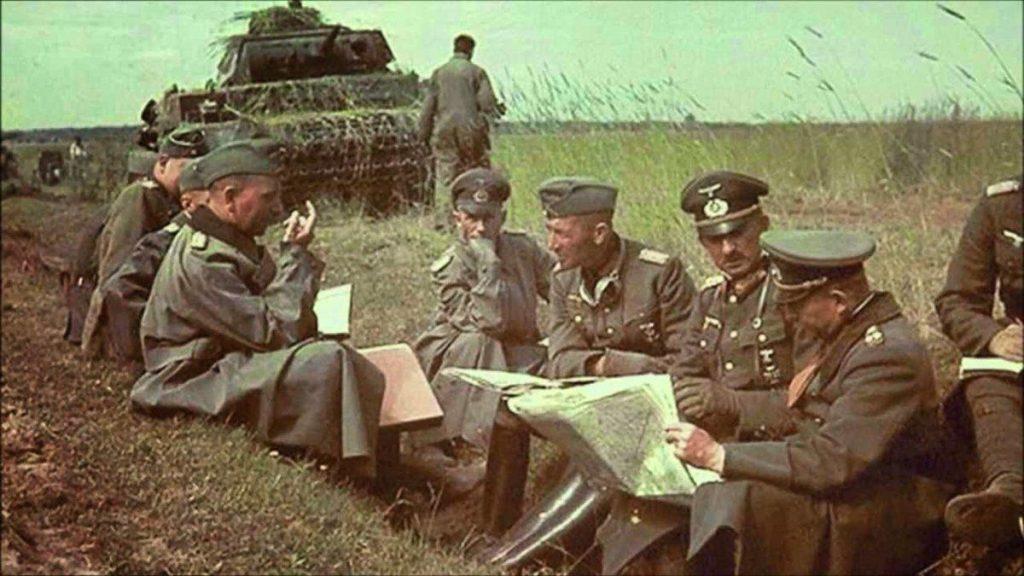 Войска в битве за Москву
