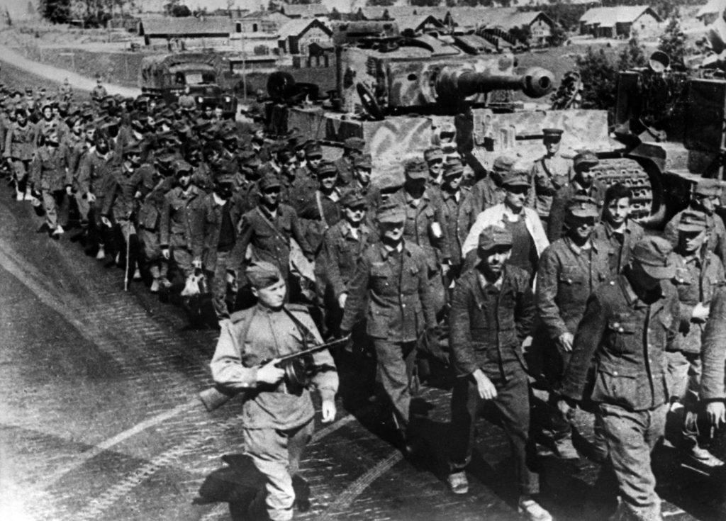 Советские войска в Белоруссии
