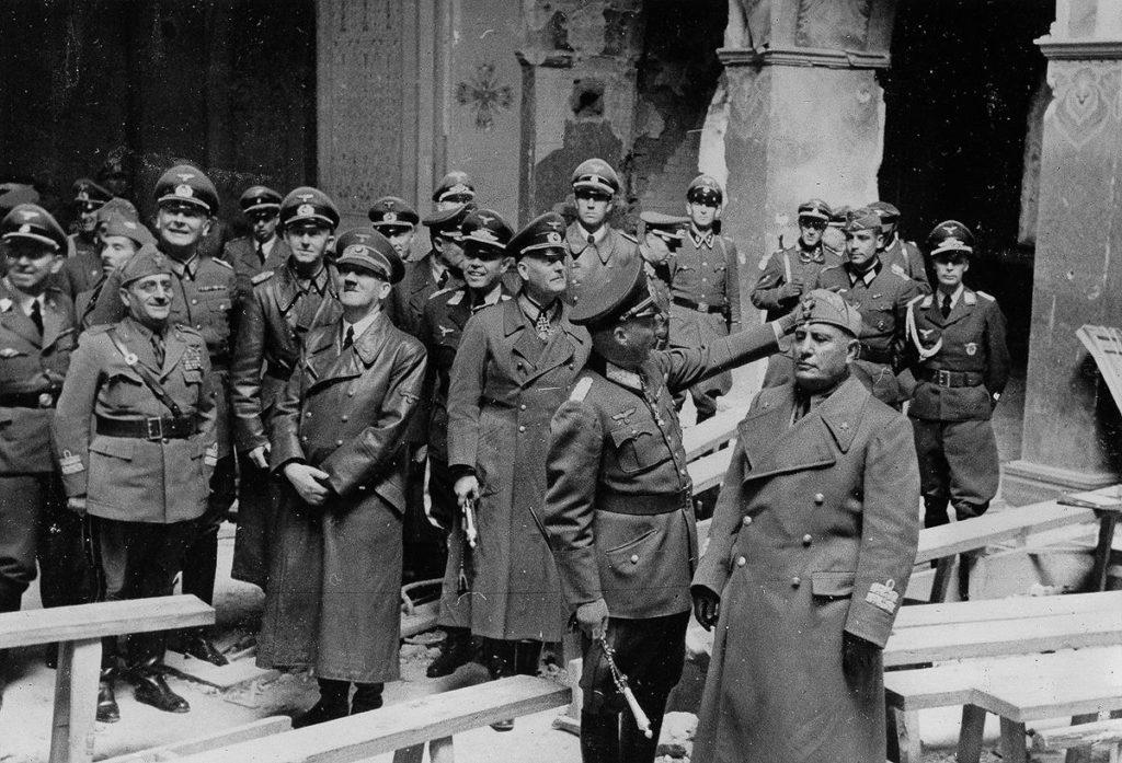 Август 1941, Гитлер в Брестской крепости