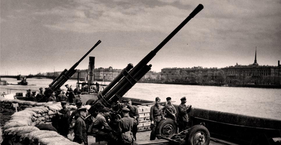 Оружие в битве за Ленинград