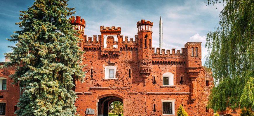 Главный вид Брестской крепости