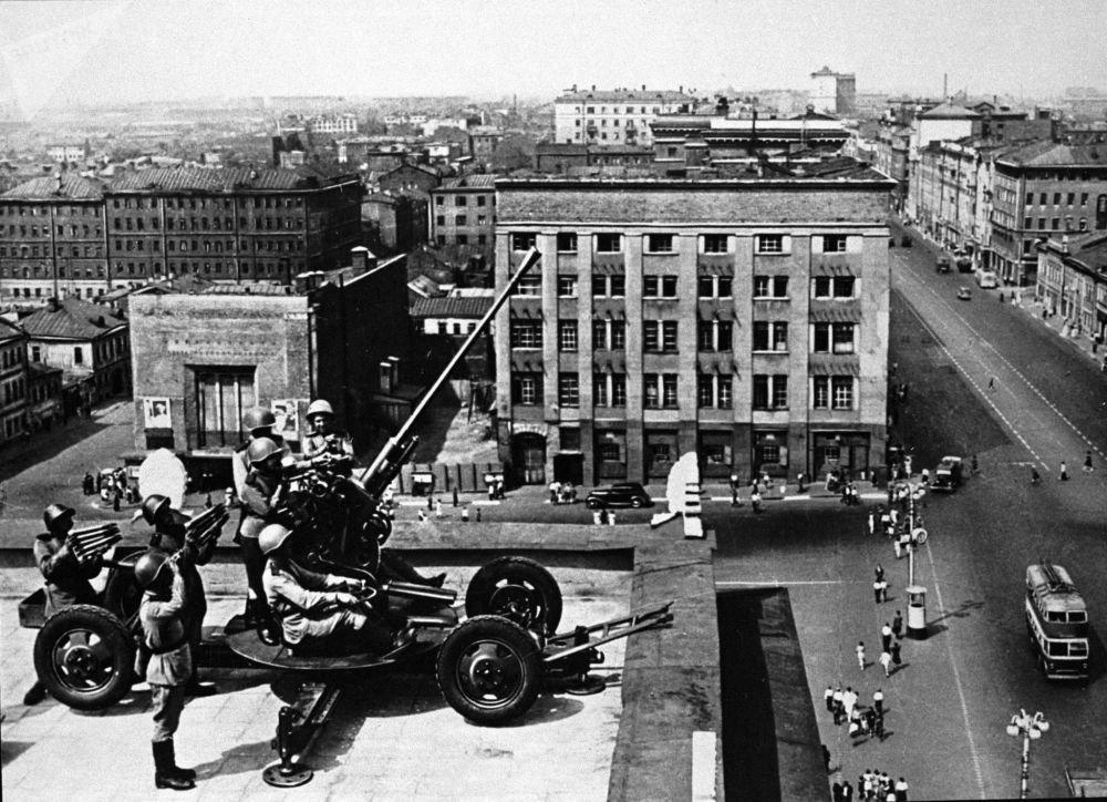 Нападение немцев на Москву