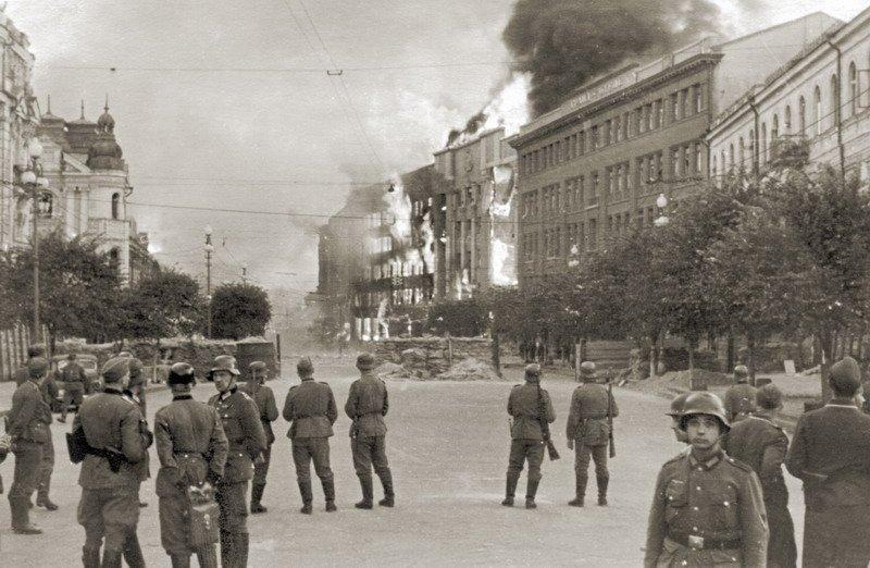 Взрыв здания в Киеве