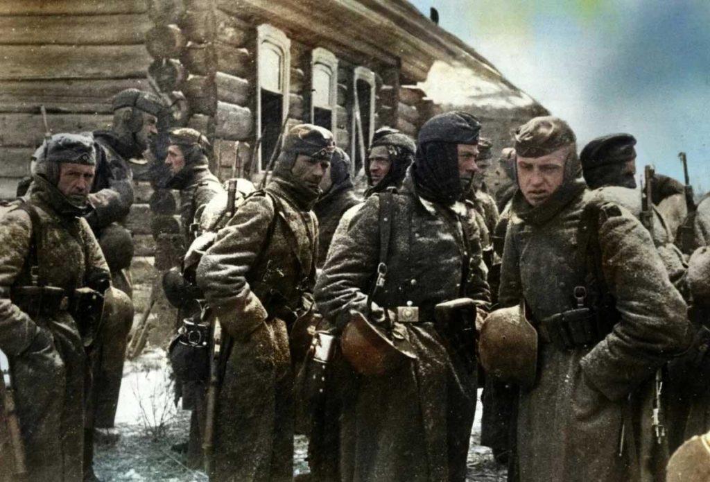 Советские войска в Отечественной войне