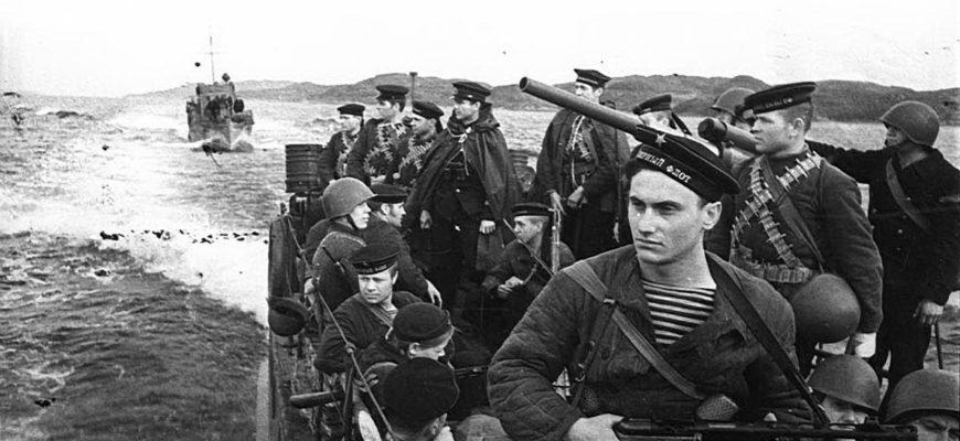 Морской десант в битве за Кавказ