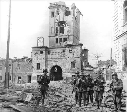 Немцы в Бресте