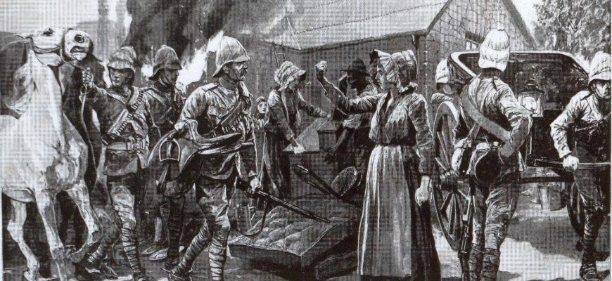 Война между бурами и англичанами