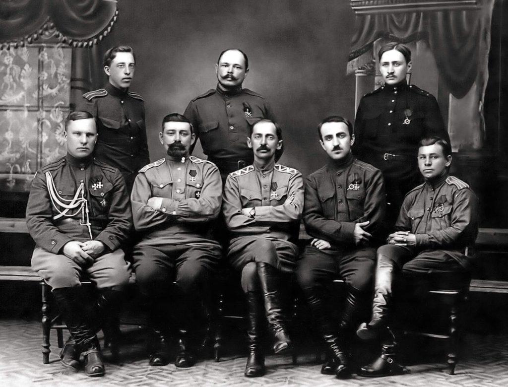Фото офицеров Русской армии