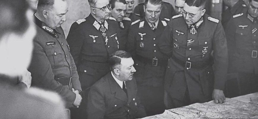 Гитлер разрабатывает план нападения