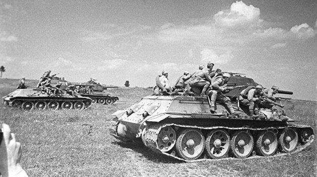 Советские танки, Украина