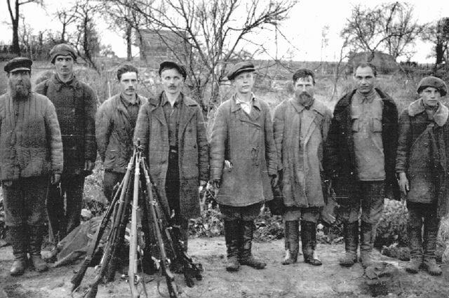 Украинские повстанцы в 1943 году