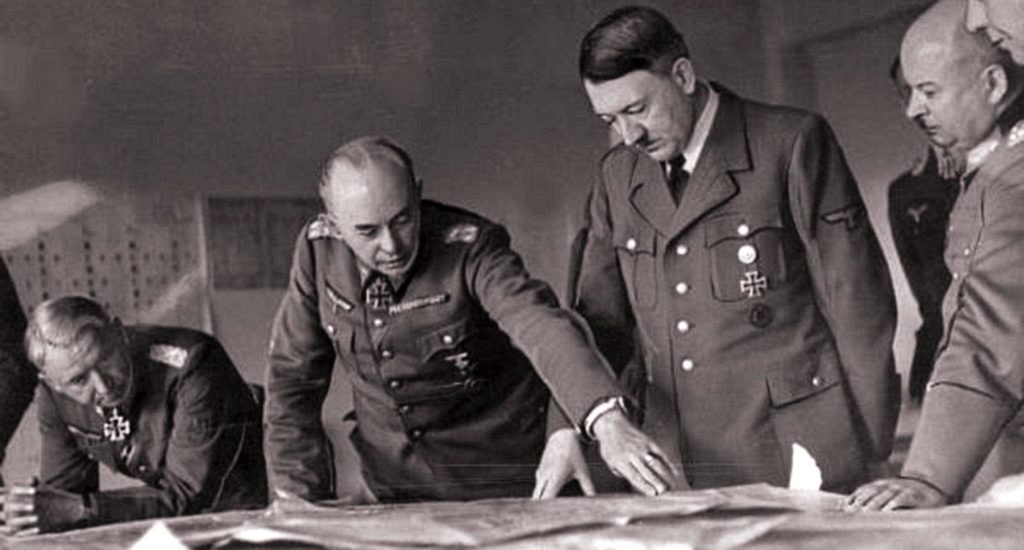 Гитлер разрабатывает план наступления