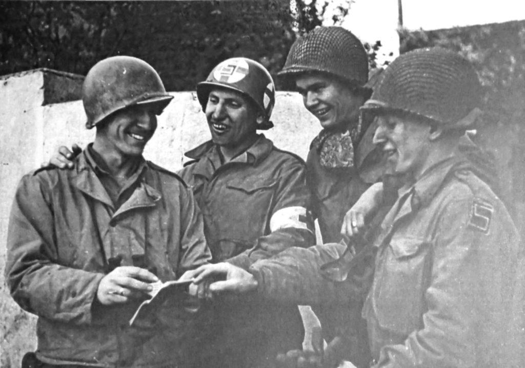 Альберт Коцебу фото с войны