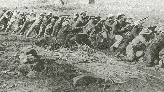 Фото бурских солдат