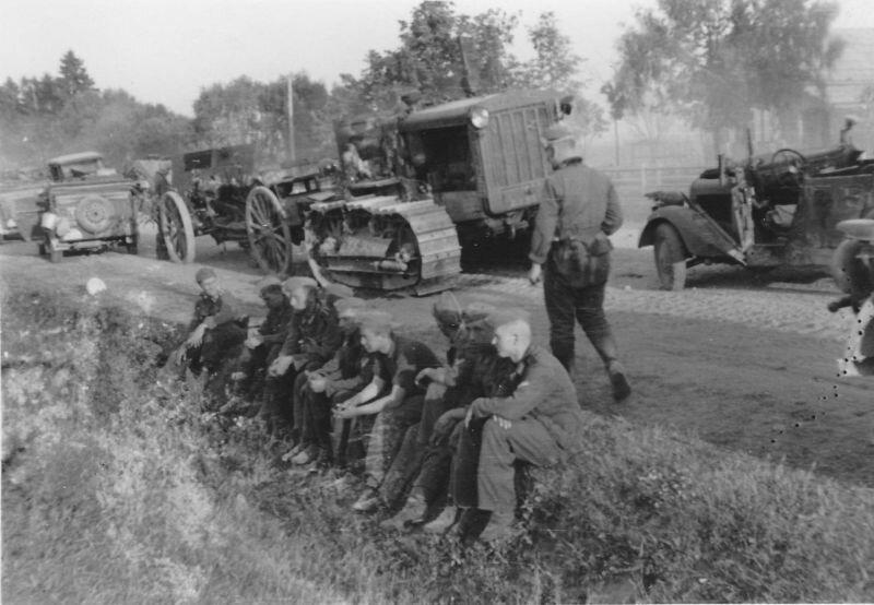 Немецкая техника и немецкие войска