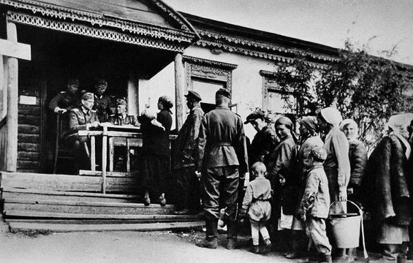 Немцы в советской деревне