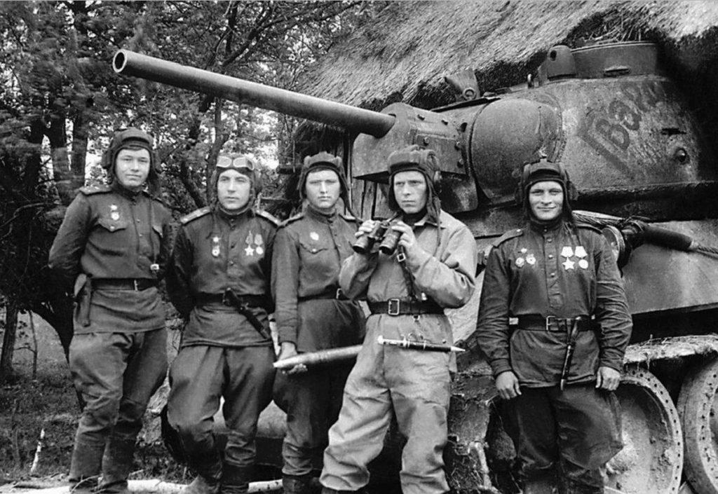 Фото танкистов Красной Армии