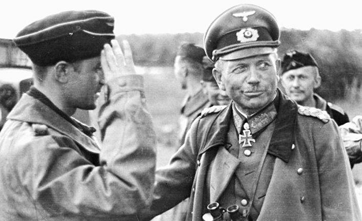 Фото генерала Вермахта Гудериан