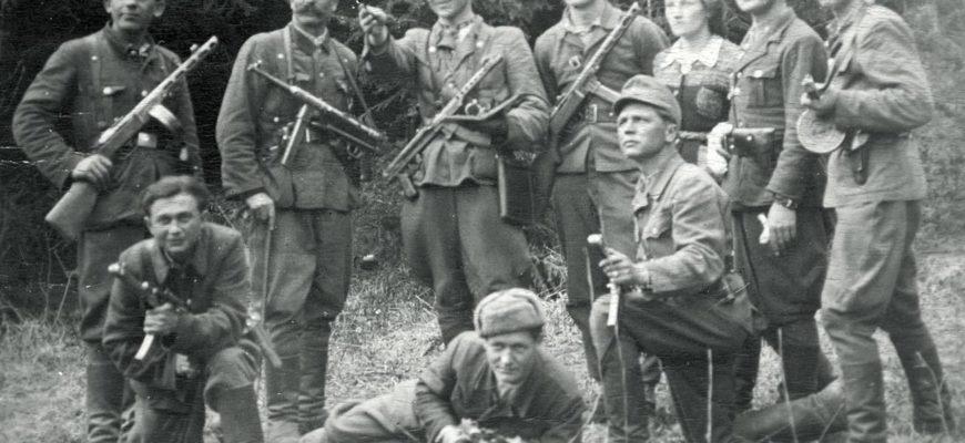 Солдаты УПА в годы войны
