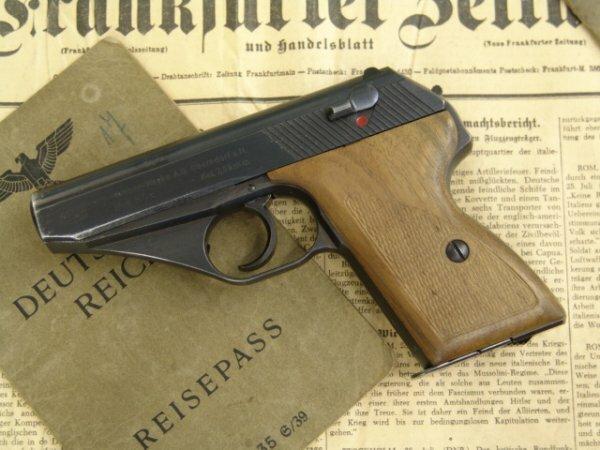Образец пистолета Вальтер