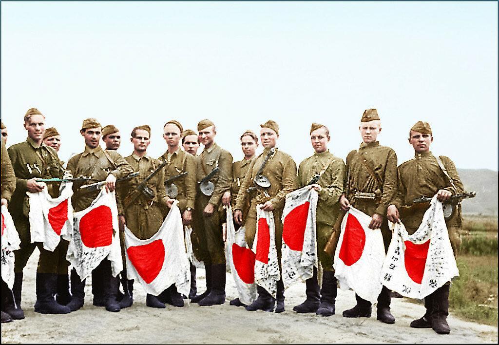 Капитуляция милитаристской Японии