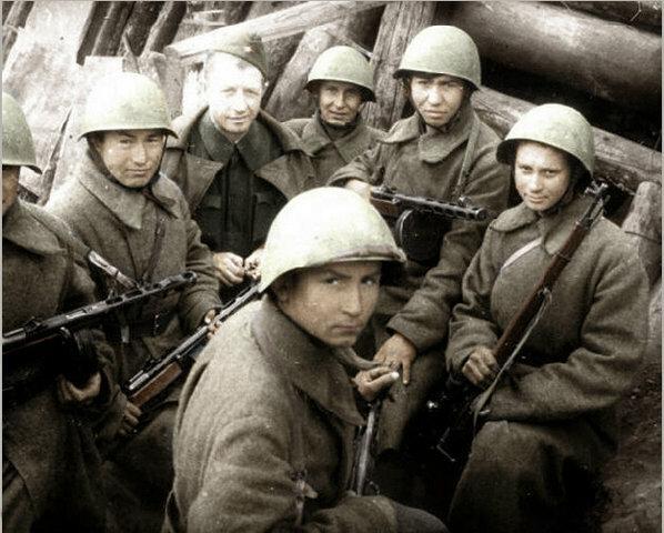 Войска Красной армии