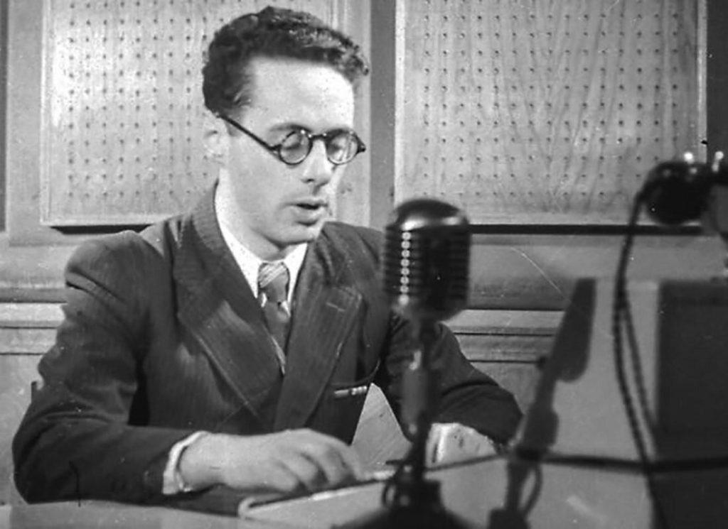 Юрий Левитан на радио