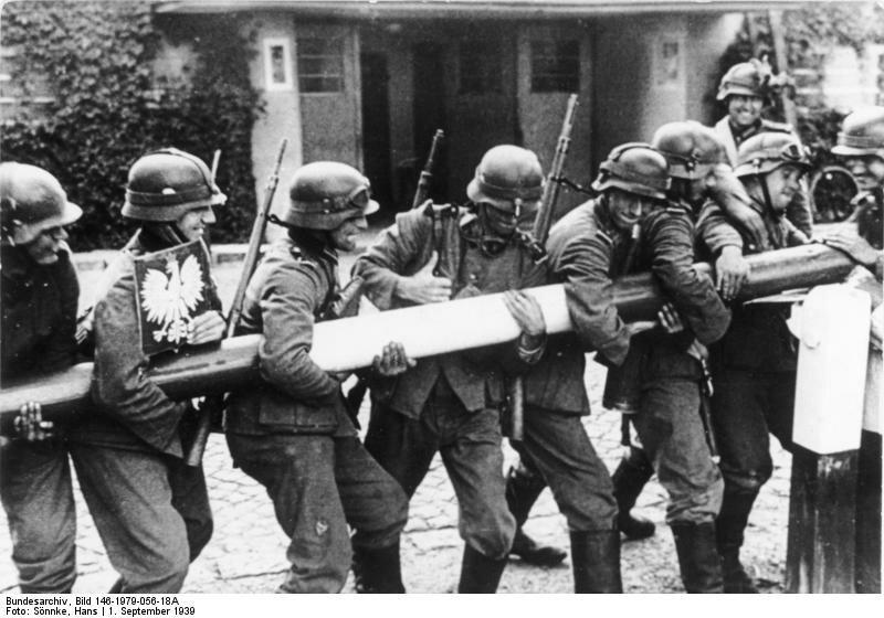 Вторжение немцев в Польшу
