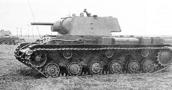 Фото танка КВ-1