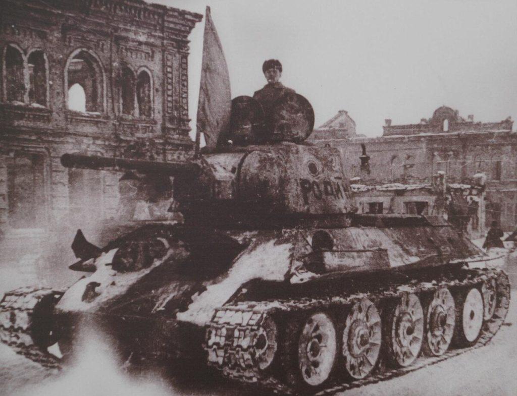 Фото танкистов в Сталинграде