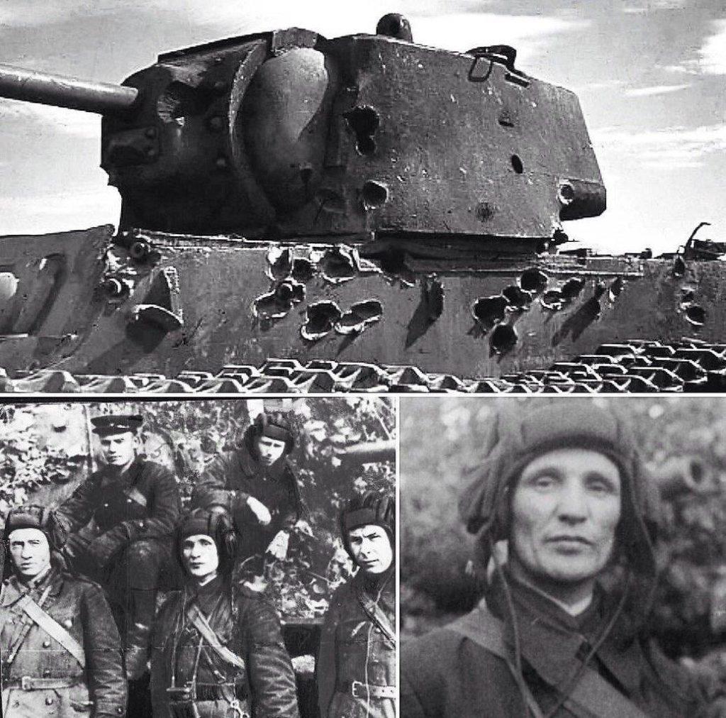 На фото танкист Зиновий Колобанов