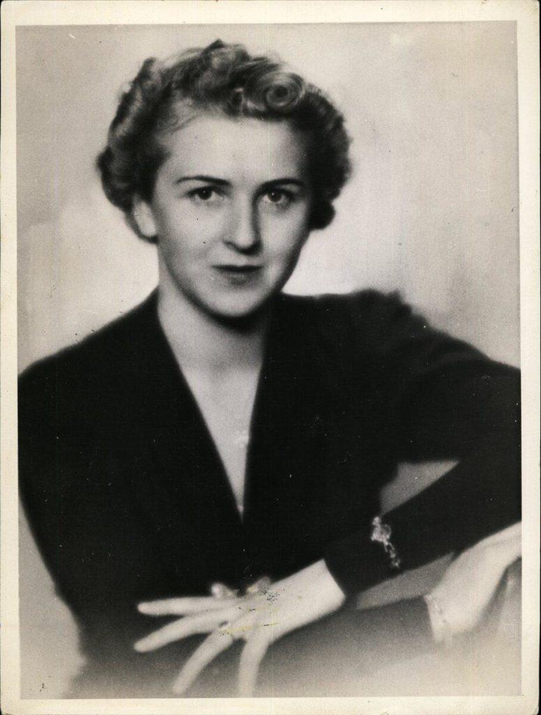 Портрет Евы Браун