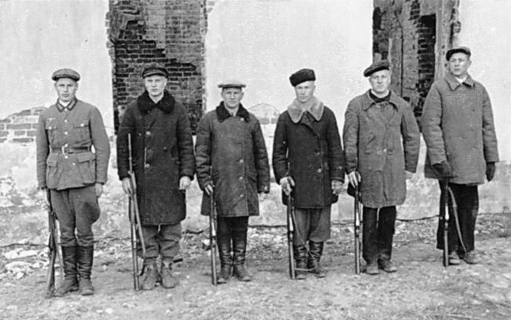 Фото полицаев Белоруссии