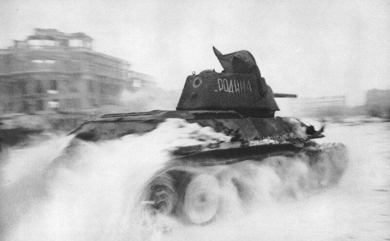 Танк в Сталинграде