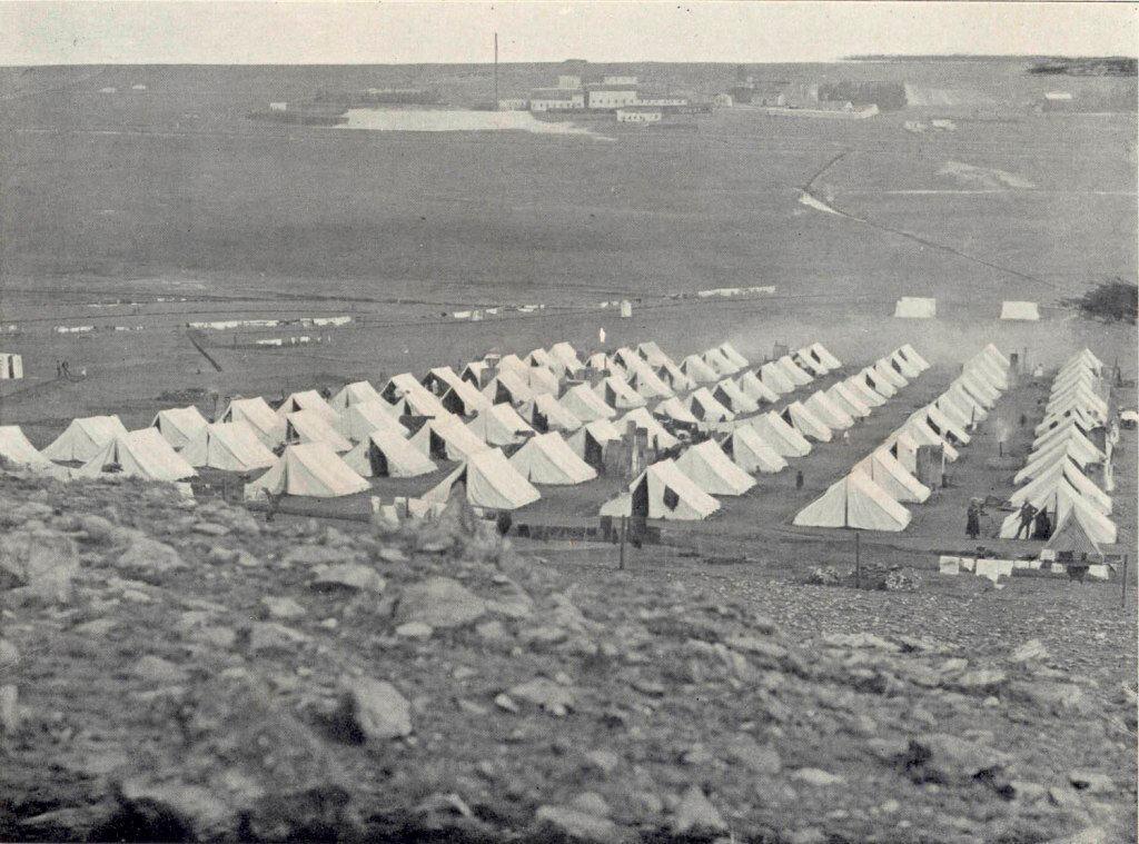 Концлагерь во время войны