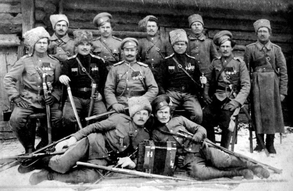 Фото белогвардейцев во времена войны