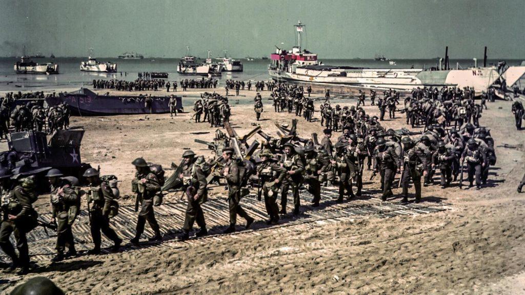 Высадка англо-американских войск